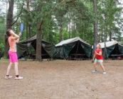 Namioty z podłogami